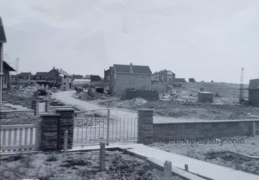 Loy Leys looking up Hammerton Road 1960sh
